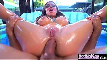 (Karmen Karma) Superb Sluty Girl With Big Butt Enjoy Anal Sex clip-16