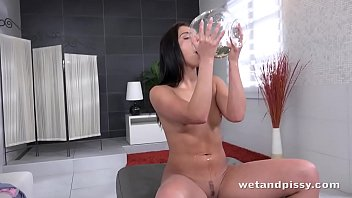 Gorgeous Teen Gives In To Her Piss Fantasties