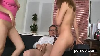 Erotic mentoring - Erotic college girl is seduced and reamed by older teacher