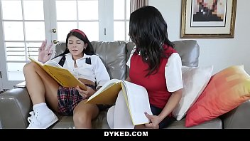 Dyked - Petite Teen (Sadie Pop) Dominated & Fucked By Tutor (Tia Cyrus)