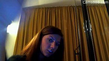cam girl show her blowjob skill on cams888.com