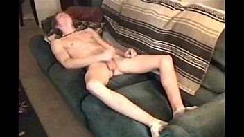 Fresh 18yr Jerking It Off On Couch Twink porn image