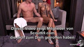 Quick Fuck before go Sleep - German Redhead Tattoo Teen is Horny