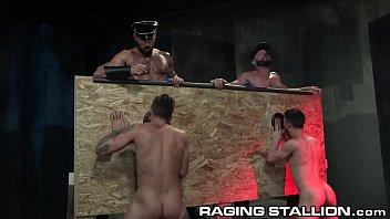 Dick gay leather suck Ragingstallion i said suck that dick spit on it through glory hole
