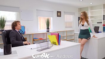 CUM4K MULTIPLE DRIPPING creampies with office secretary Lena Paul