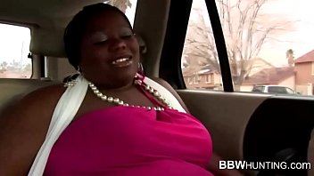 Ebony missis back seat