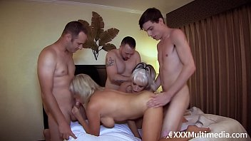 Insane mom orgy son Mommy has an orgy with son and his friends feat payton hall