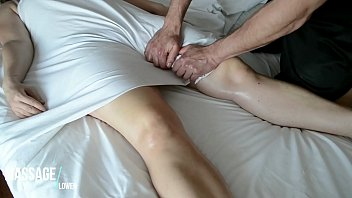 Sensual Massage - Romantic touch - Preparing her for SEX
