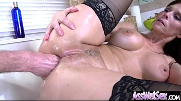 Anal de Anal sex tape with big oiled wet butt girl syren de mer movie-27