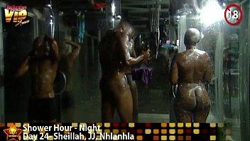 Big Brother Africa Shower Hour - Sheillah JJ Nhlanhla thumbnail
