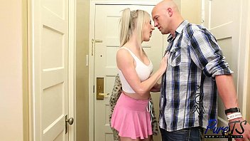 blonde bimbo Juliette gets what she craves