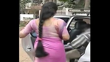 Serial actress Sukanya hot THICK long Hair Back View Side View (Low)
