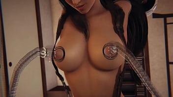 Final Fantasy 7 Remake - Tifa Lockhart In Sex Machine - 3D Porn