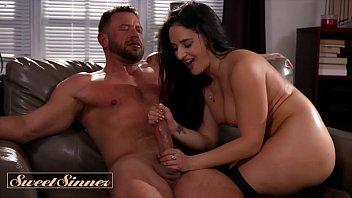 Big tit thicc Sex Therapist Sheena Ryder makes big cock cum - Sweet Sinner