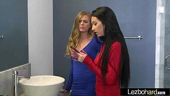 (Sydney Cole & Cyrstal Rae) Teen Amazing Girls Busy In Hot Lesbo Sex Act vid-28 thumbnail