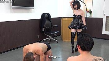Japanese Bondage Girl Ai Whipping and Messy
