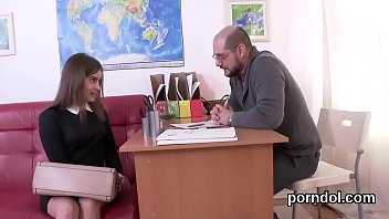 Nice schoolgirl is seduced and rode by her aged tutor