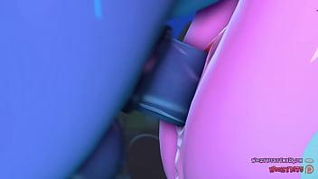 3D Futa Ponies Starlight Glimmer x Trixie - naughtybrony.com