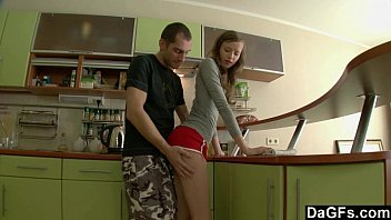 Surprise Sodomy In The Kitchen