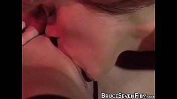Hardcore BDSM beauty eating pussy lesbian and anal play