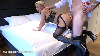 Wife in latex Mydirtyhobby - cheating wife whoring in a hotel room anally