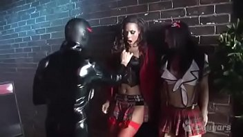Two Sexy Babes Have A Latex Orgy