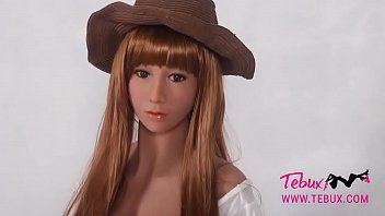 Sex with a real doll Teen brunette sex doll babe looks real