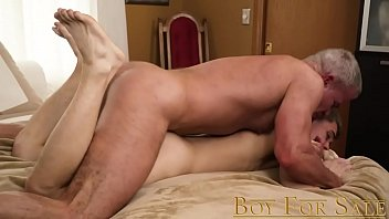 Barely legal gay sports Boyforsale - young slave boy sold to daddy dom for bareback breeding