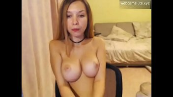 Perfect young russian babe mastrubate on camera