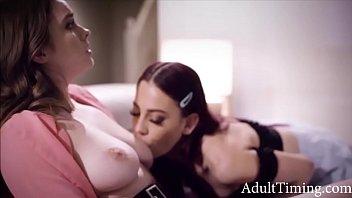 Vengeful Sister Fucks Lesbian Sister's Virgin Girlfriend- Sabina Rouge