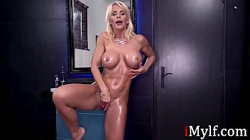 Oiled Up MILF SO MUCH Better than your GF- Tiffany Rousso thumbnail