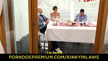 Kinky Inlaws - Beautiful Czech Babe Cindy Shine Gets Banged By Stepson At Her Wedding