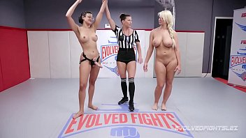 Uncensord fights and sex London river wrestles penny barber and gets beat and fucked