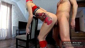 Standing Sex With Hot Tattoed Blonde! AliceMargo.com