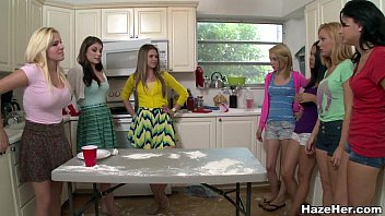 Sexy College Amateurs In The Kitchen Getting Hazed (za12337)