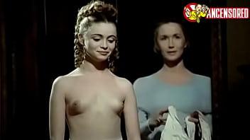 Emmanuelle Béart nude scenes in Un Amour interdit (1984)