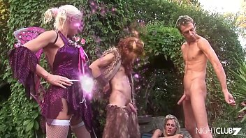 Fairy enjoys threesome sex