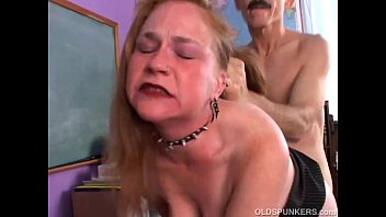 Harry mature pussy - Kinky old spunker likes a rough fucking and a sticky facial cumshot