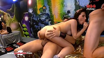 Super hot amateur teen Lia Louise gangbanged - German Goo Girls