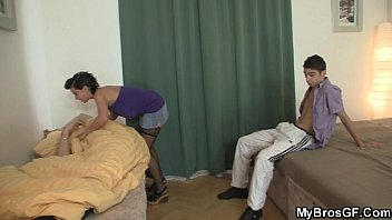 He sleeps whele his GF cheats