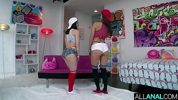 ALL ANAL Jane and Emily get fucked in their asses