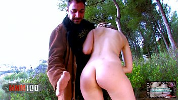 Hot french slut anal fucked in the woods