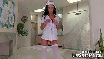 Sexy nurse gives special treatment