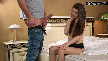 Defloration teen porn Defloration - a professional takes mirellas virginity