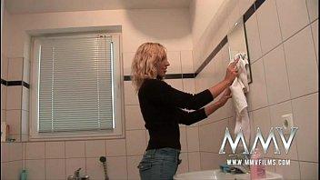 Sex interpreted bathroom Mmv films german amateur couple sex in the bathroom