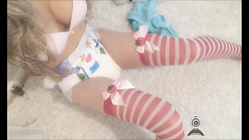 College adult diaper baby Diaper teen girl