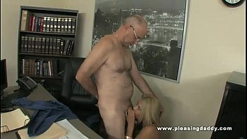 Fucking man old slut young - Young blond slut gemma fucks an old cock