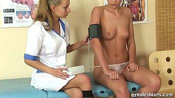 The nurse Ekaterina inspected Valeria