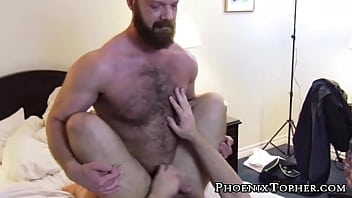 Gay douche how to - Macho bears banging bareback after a nice warm shower