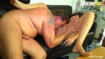 AMATEUR EURO - Amateur Passionate Couple In Real Homemade - Elke S.